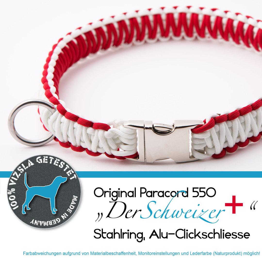 paracord550 hundehalsband der schweizer kooira manufaktur. Black Bedroom Furniture Sets. Home Design Ideas