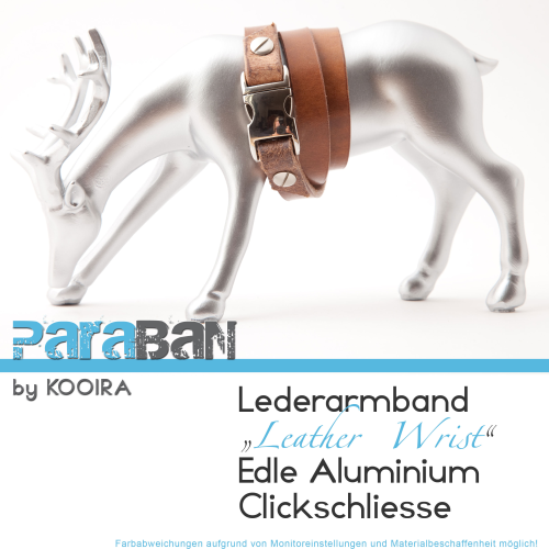 PARABAN Lederarmband LEATHER WRIST