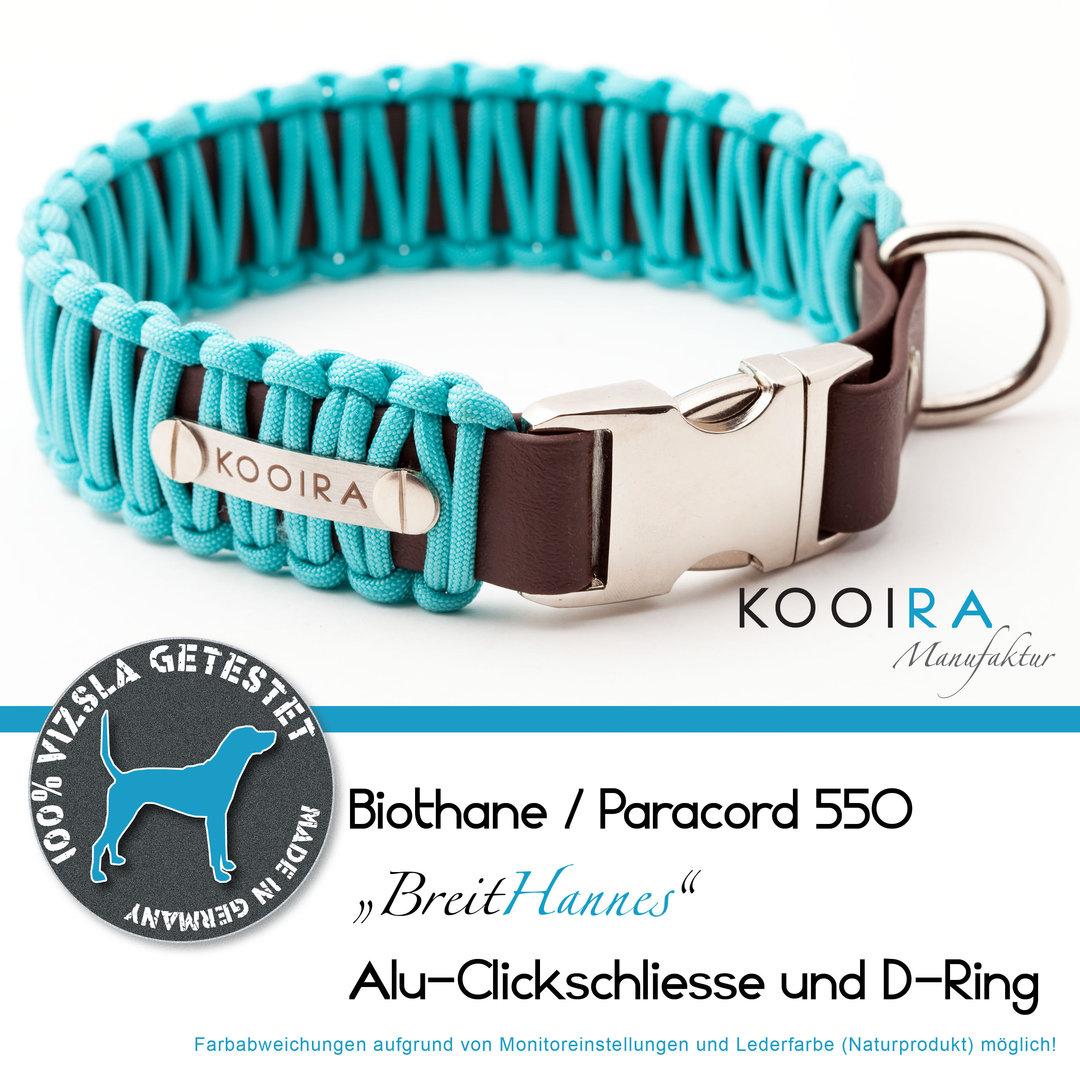 Kooira Manufaktur Breithannes Hundehalsband Biothane Paracord Made In Germany